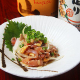 宮崎県産鶏肉使用。親鳥のタタキ