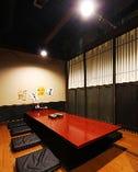 大小ご宴会に合わせた完全個室、多数あり!