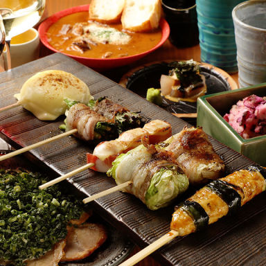 串焼き、野菜巻き専門店 九四八 成田店 コースの画像