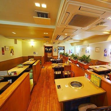 焼肉ハウスマンボウ 江田店 店内の画像
