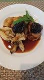 栃木産豚ヒレ肉のロティ プルーンソース 一例