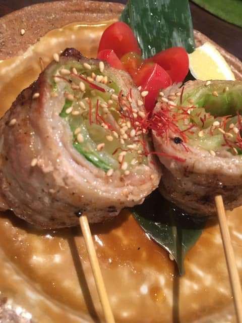 野菜肉巻き串