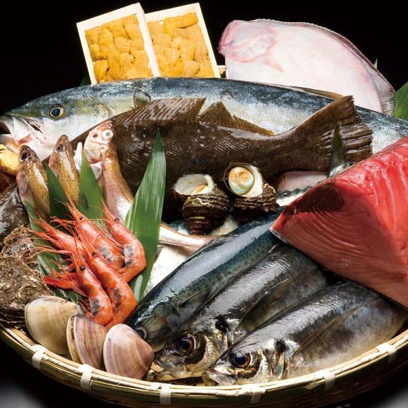 とれたて新鮮な魚介をご提供!