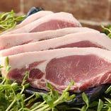 銘柄豚「ヨーグル豚」を是非当店でお愉しみください