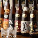 厳選日本酒・焼酎