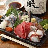 旬の鮮魚を堪能いただけます