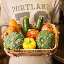 『産地直送』採れたて野菜