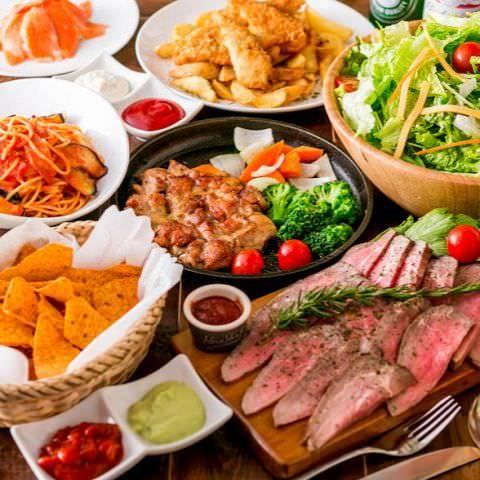 ◆厳選肉推し!!◆ 『肉祭りコース』 3時間6品飲み放題付コース4000円⇒3000円(生ビール付)