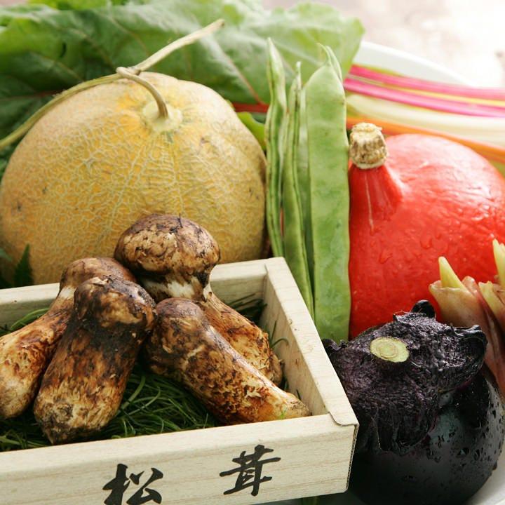 旬の食材を使用した料理は素材そのものの旨みを感じられます