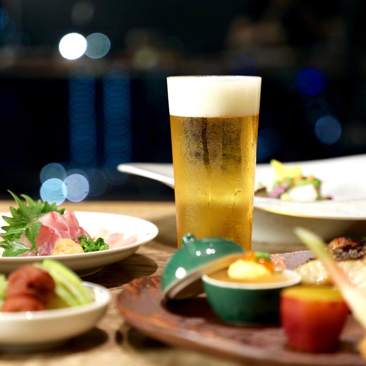 日本料理の粋を味わえるコースを9,000円からご用意しています