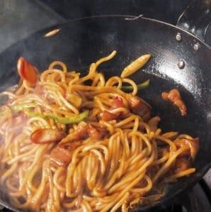 伝統の一品!! ☆名物☆炒めスパゲティナポリタン