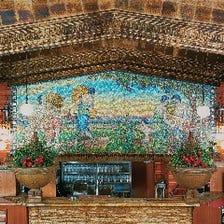 日本初の250色ガラスモザイク壁画