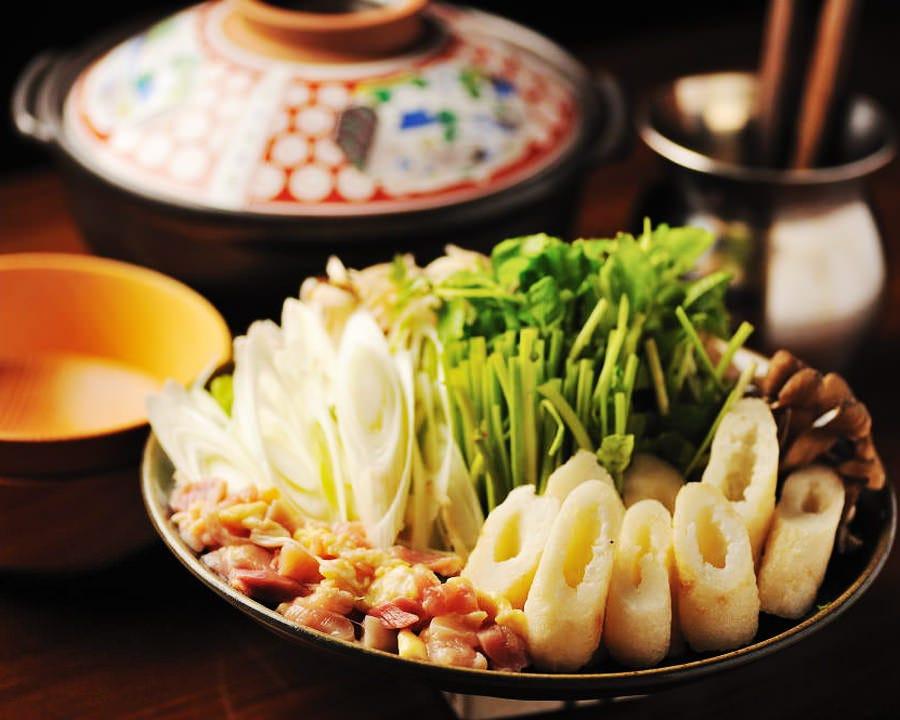 当店名物「きりたんぽ鍋」 季節を問わず大人気です!