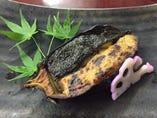 茄子の味噌ニ色田楽