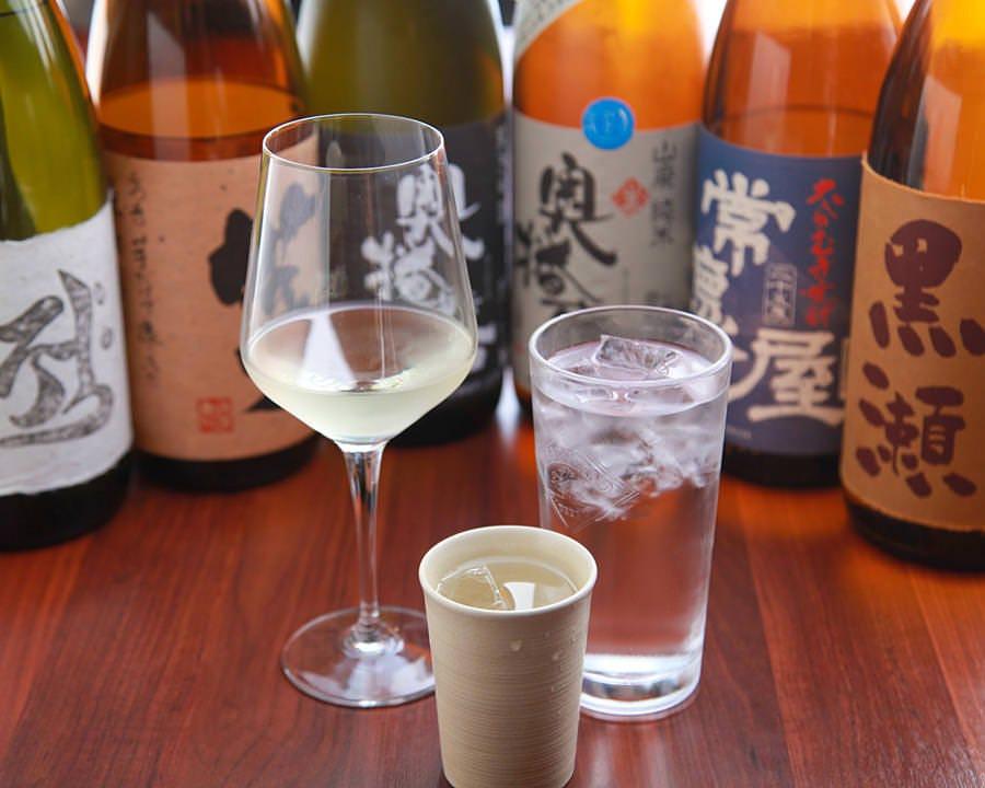 日本酒、地酒はおすすめが 入る度にリスト変更いたします