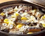 コースの最後のお楽しみ 「季節の土鍋ご飯」