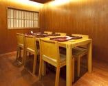 大切な食事の席に最適 2~4名様個室