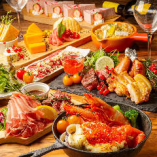 宴会コースは飲み放題付&チーズ料理を堪能可能♪3500円