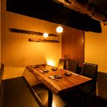 インテリアや照明演出にもこだわったリラックス空間をご提供。
