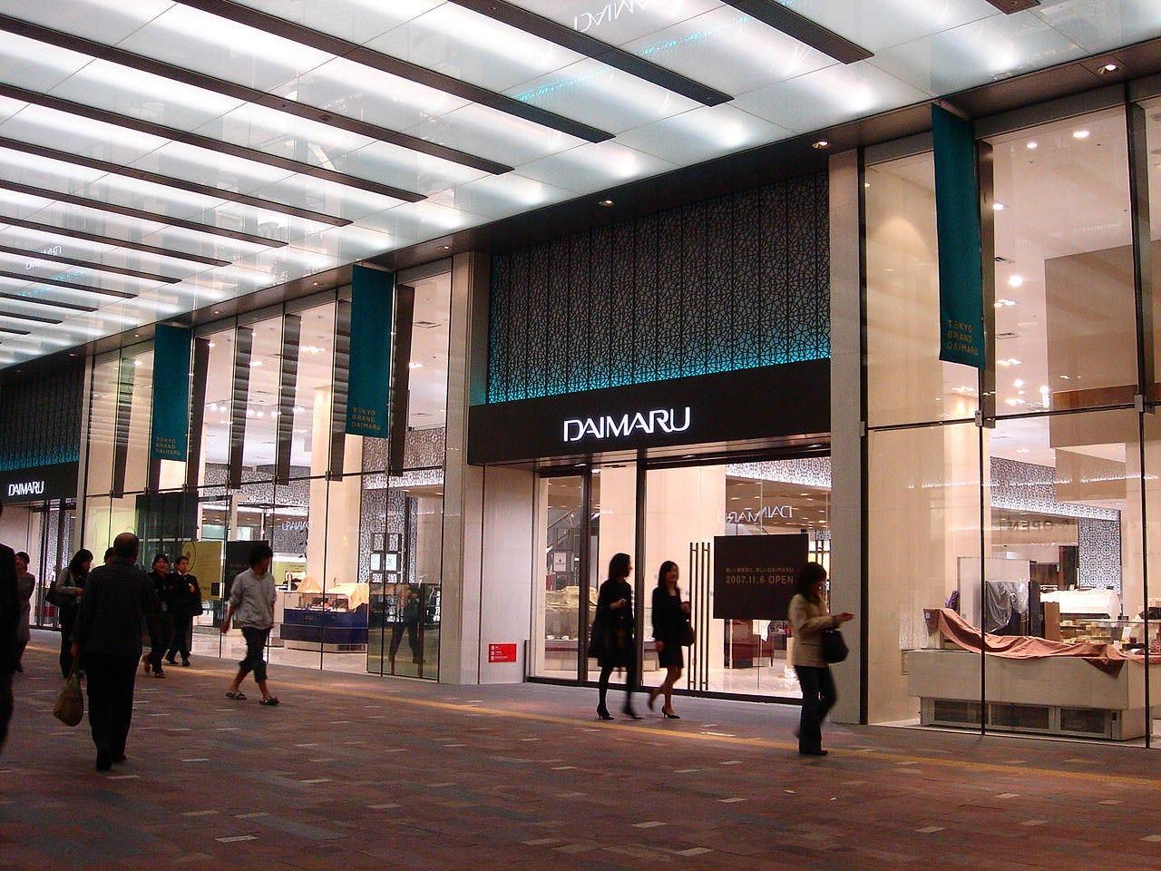 東京駅直結大丸12階の好立地!