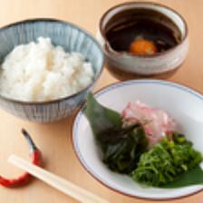 郷土料理『宇和島の鯛めし』