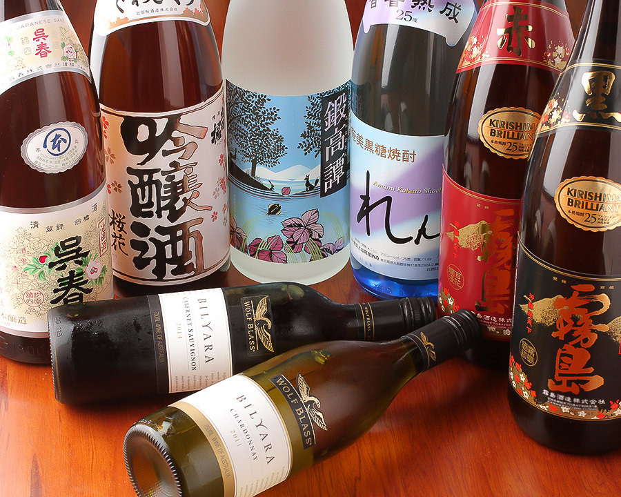 大阪地酒にこだわっております。