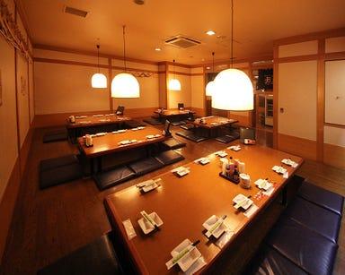 魚民 三沢アメリカ村店 店内の画像