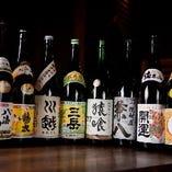 【充実のお酒】 幅広い味わいの1杯を種類豊富に取り揃え
