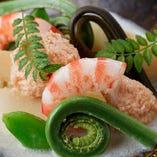【ディナー】かわ原の四季折々の季節料理 15,000円コース