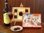 当店オリジナルのシェリーチョコレート販売!お土産にどうぞ。