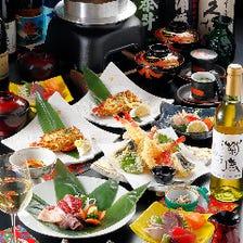 熊本の美食・銘品を飲み放題付きで!