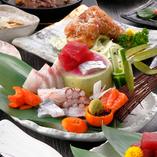 「熊本」ならではの新鮮さと上質な旨みを味わえるコースをご用意