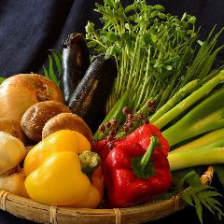 農家直送の新鮮野菜や季節の野菜
