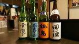 入手困難な日本酒や焼酎も取り揃えております!