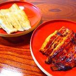 鰻は鹿児島あるいは愛知県産を使用しています。