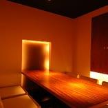ゆとりとなごみの空間『純和風の掘り炬燵個室』