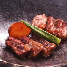 北海道産牛ヒレ肉と牛サガリの2種盛り合わせ