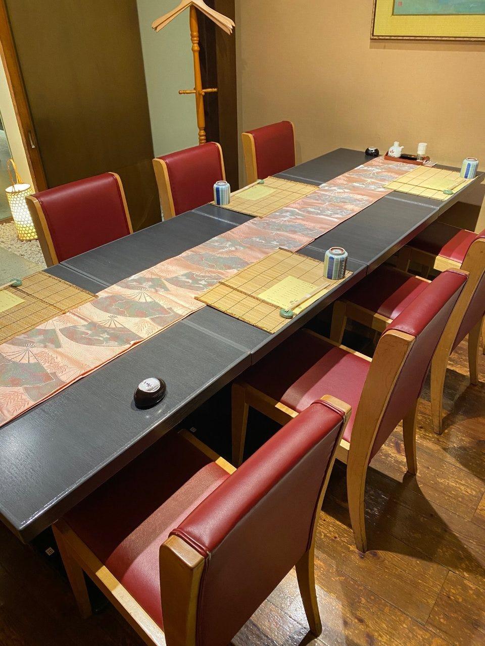 接待や会食にぴったりな個室空間