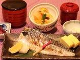 焼き魚御膳(鯖)