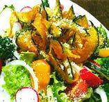気まぐれ道産野菜のサラダ
