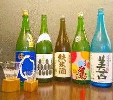 北海道全12蔵180種以上を楽しめます