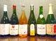 希少なボトルワインや、スパークリングワイン。シードルもアリ!