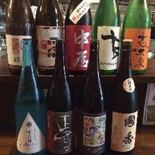 お頭セレクト日本酒や地酒