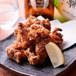 国産鶏モモ肉唐揚げ
