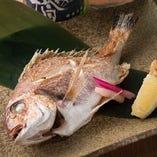 季節の魚 姿焼き