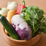 お野菜の質にもこだわり!クルーズキッチンでは鮮度管理に気を使い調理を行なっています。