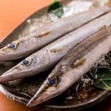 市場より季節の魚を入荷しております。