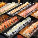 注文をいただいてから作ります。出来立てのお寿司はいかがですか?