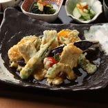 旬の魚と季節野菜の煮おろし掛け定食