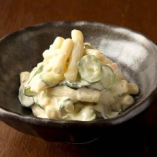 柚子胡椒風味のマカロニサラダ